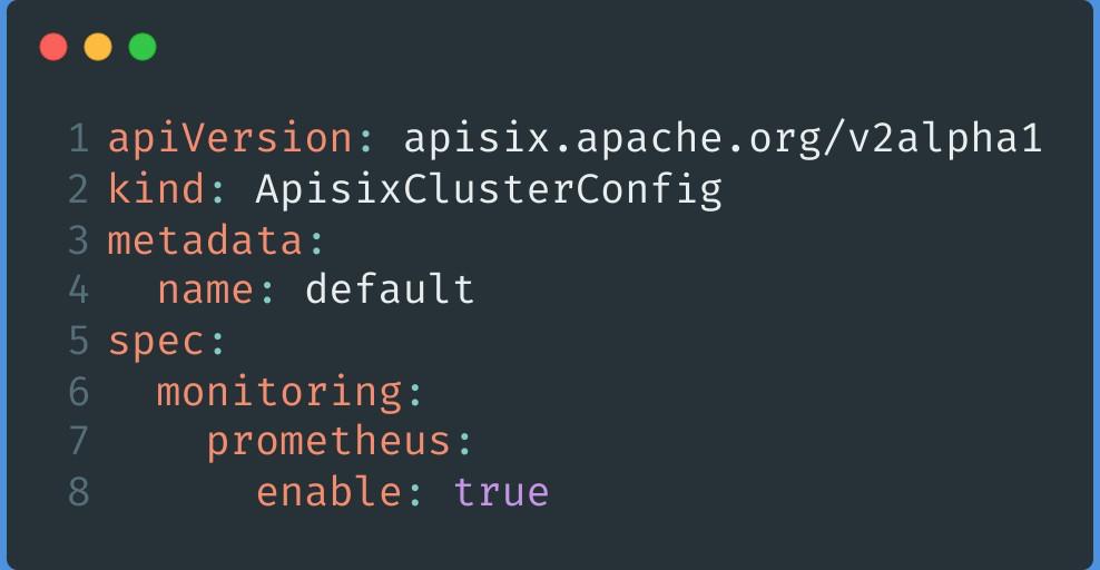 APISIX Cluster Config