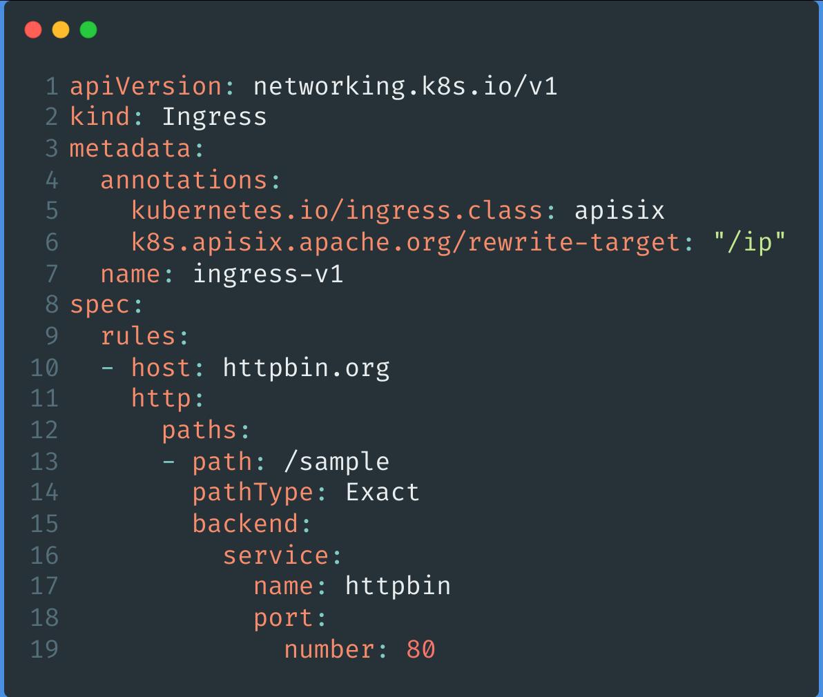 APISIX Ingress 资源